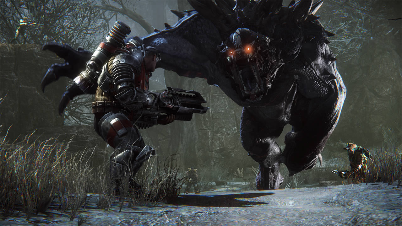evolve 2k games xbox one