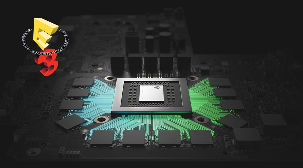 xbox one x microsoft e3 announcements