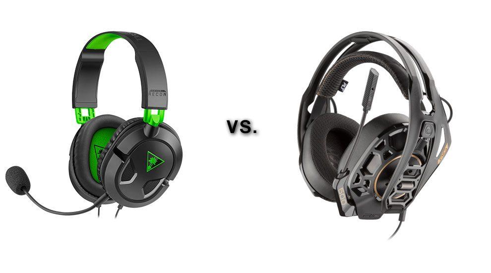 Turtle Beach Recon 50X vs  RIG 500 Pro HC Headset | Type 2 Gaming